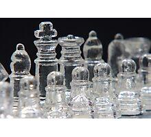 Chess King Photographic Print