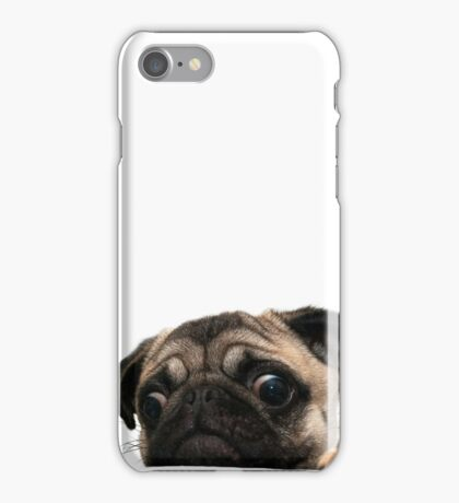 Worried Pug iPhone Case/Skin