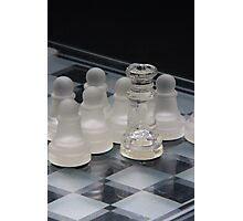 Chess Queen Following Photographic Print