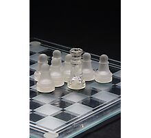 Chess Queen Following 2 Photographic Print