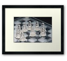 Chess Surrounded Framed Print