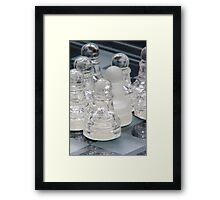 Chess Surrounded 2 Framed Print