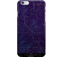 USGS Topo Map Oregon Pinhead Buttes 281102 1997 24000 Inverted iPhone Case/Skin
