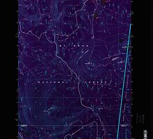 USGS Topo Map Oregon Pinhead Buttes 281102 1997 24000 Inverted by wetdryvac