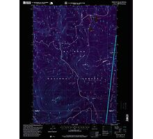 USGS Topo Map Oregon Pinhead Buttes 281102 1997 24000 Inverted Photographic Print