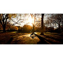 autumn in st stephens green  Photographic Print