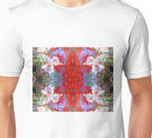 Birds Outside The Box (Red Lightning Agate) Unisex T-Shirt