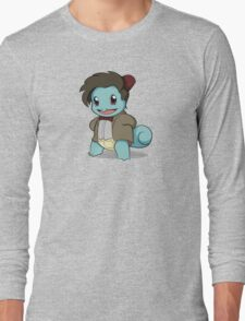 Squirtle Who Long Sleeve T-Shirt