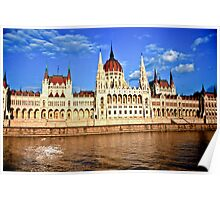Hungarian Parliament Building, Budapest Poster