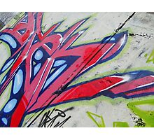 Graffiti 1 Photographic Print