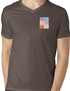 My little Pony - Elements of Harmony Cutie Mark Special Mens V-Neck T-Shirt