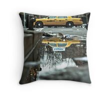 Cab Reflections Throw Pillow