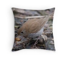 A Veery Good Snack Throw Pillow
