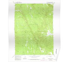USGS Topo Map Oregon Coffeepot Creek 279386 1966 24000 Poster