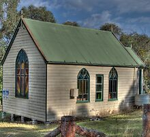 St Stephens Anglican Church, Hargraves, NSW, Australia  by Adrian Paul