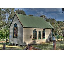 St Stephens Anglican Church, Hargraves, NSW, Australia  Photographic Print