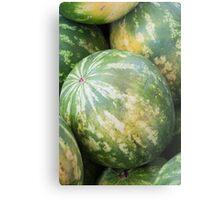watermelon in summer Metal Print