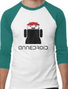 ANNEDROID Men's Baseball ¾ T-Shirt