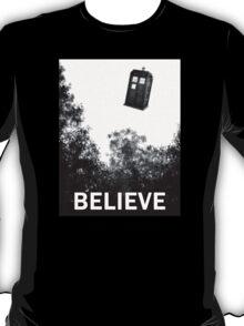 Believe - Police Box T-Shirt