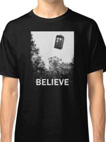 Believe - Police Box Classic T-Shirt