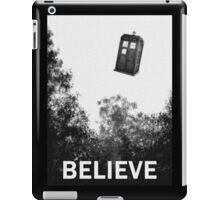Believe - Police Box iPad Case/Skin