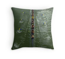 Sculling Throw Pillow