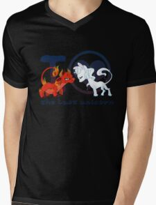 I heart The Last Unicorn Mens V-Neck T-Shirt