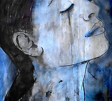 in blue by Loui  Jover