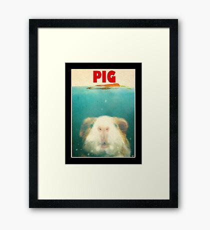 Little Sea Pig Framed Print