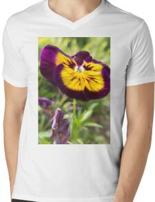violet in the garden Mens V-Neck T-Shirt