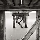 Angles of the Underneath - B&W by Sean Farrow