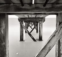 Angles of the Underneath - B&W by Sean Farrow