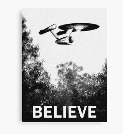 Believe - Trek Canvas Print