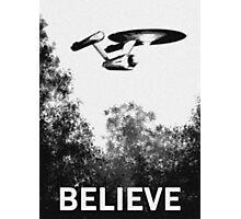 Believe - Trek Photographic Print