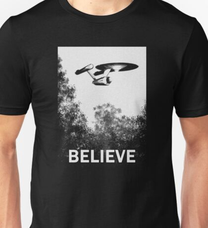 Believe - Trek Unisex T-Shirt