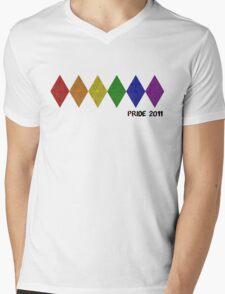 Pride 2011 Mens V-Neck T-Shirt