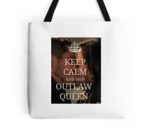 Keep Calm and Ship Outlaw Queen Tote Bag