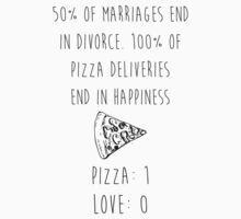 Pizza > Love by musthaveitsfun