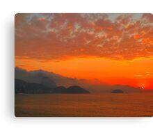 Rio de Janeiro by sunrise Canvas Print