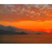 Rio de Janeiro by sunrise Photographic Print