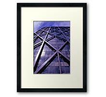 ALCOA Building, San Francisco, USA 1972. Framed Print