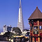 TransAmerica Tower, San Francisco, USA, 1972. by johnrf