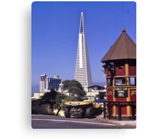 TransAmerica Tower, San Francisco, USA, 1972. Canvas Print