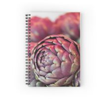 artichokes at the market Spiral Notebook