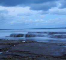 Water Over Rocks by nicolemckenna