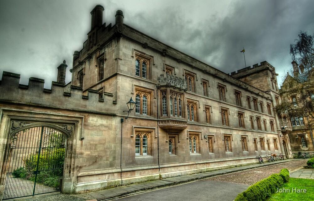 Pembroke College Oxford by John Hare