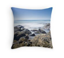 Blanket Bay Blues Throw Pillow