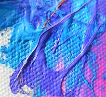 Saturation - Purple, Pink and Blue by KirstyFilewood