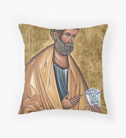 Saint Peter Throw Pillow