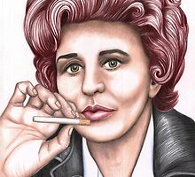 Strong women characters of Coronation Street : Elsie Tanner by Margaret Sanderson